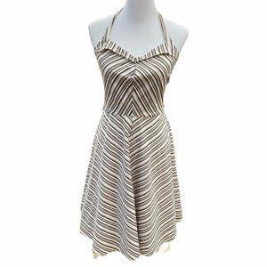BCX Halter Rockabilly Sun Dress Sz 11 Retro Style